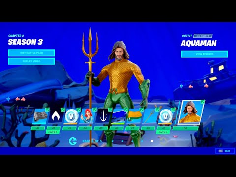 Fortnite Chapter 2 Season 3 - Battle Pass