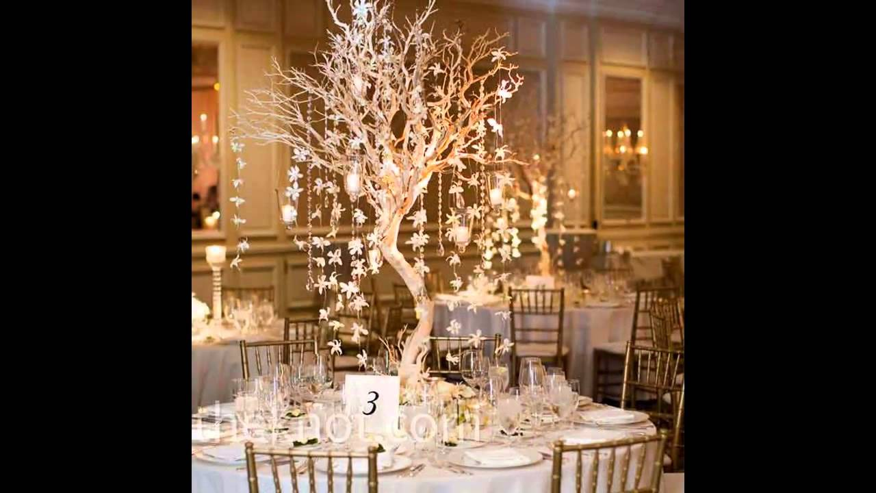Easy winter wedding table decorations youtube youtube premium junglespirit Choice Image