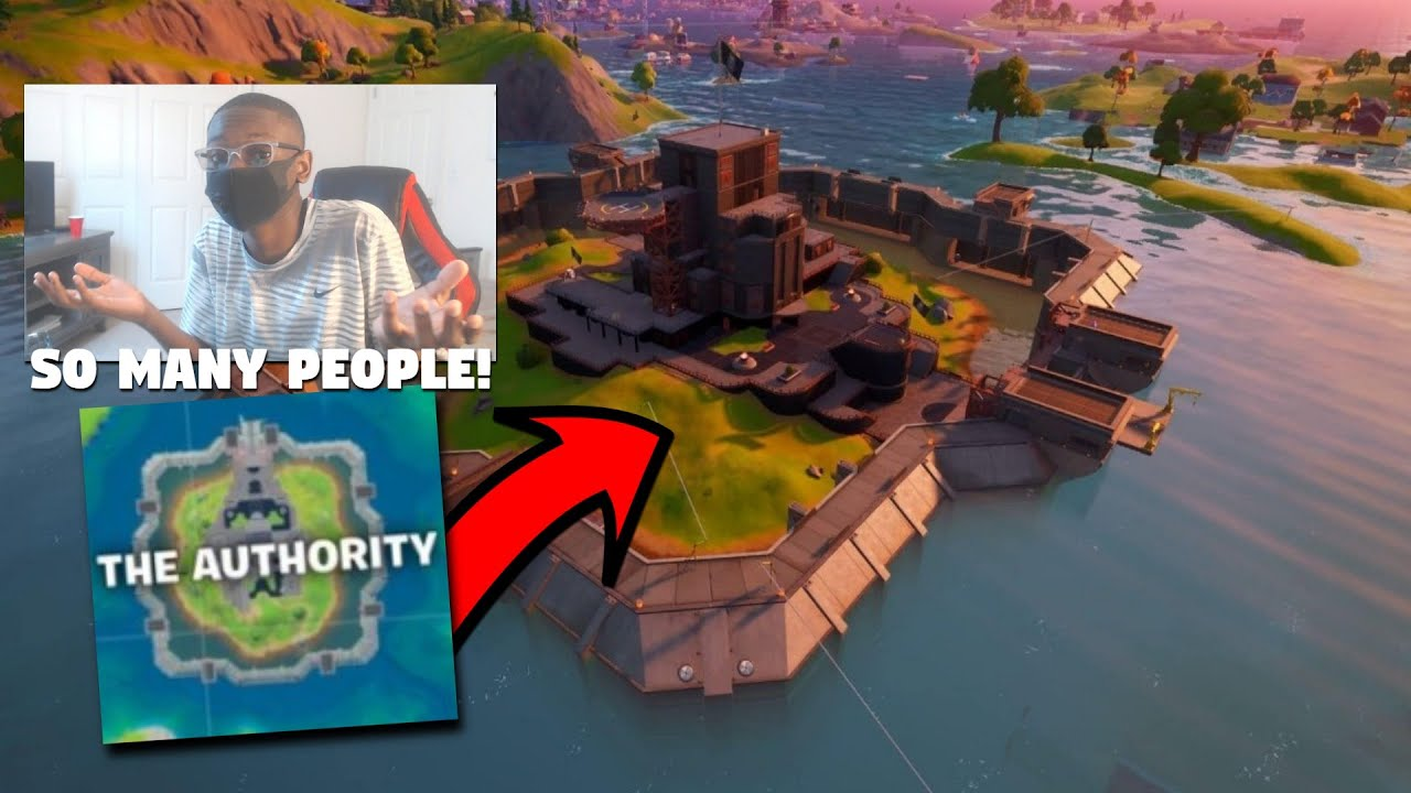 I Can Only Get Loot From *THE AUTHORITY*... (Fortnite Challenge)