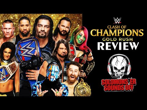 WWE Clash of Champions 2020 Full Show Review & Results   INSANE LADDER MATCH!