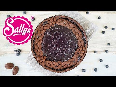 Blaubeer-Schokoladen-Pie-Tarte / Pie & Tarte in einem