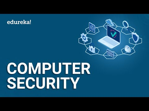 Computer Security | Types of Computer Security | Cybersecurity Course | Edureka