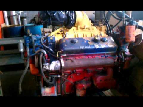 DETROIT DIESEL 8-V 71 TRUCK ENGINE