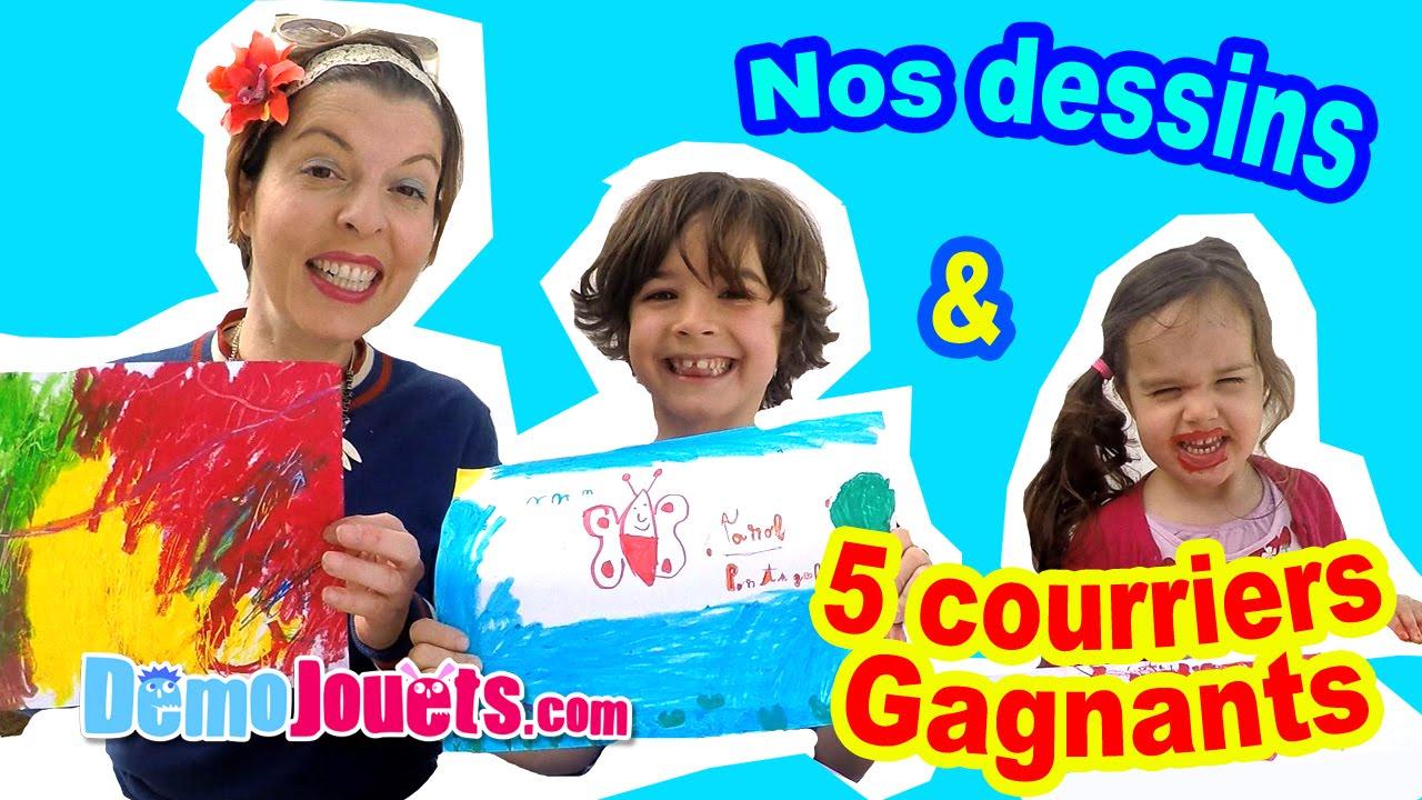 Coloriage en famille 5 courriers gagnants de fans d mo jouets youtube - Coloriage youtube ...