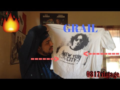TRIP TO THE THRIFT #13 VINTAGE BAND TEE GRAIL!!! |TEES |CREW NECK