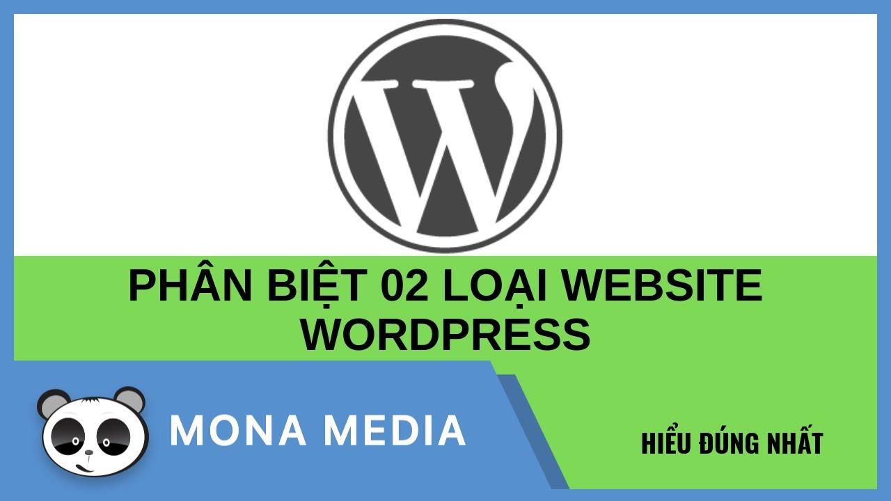 """Thiết kế website WordPress """"Cài theme"""" và """"Code tay"""""""