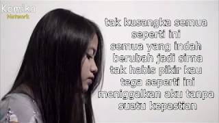 Gambar cover Biar Aku Yang Pergi (Lirik) - Aldy Maldini (Cover) by Hanin Dhiya