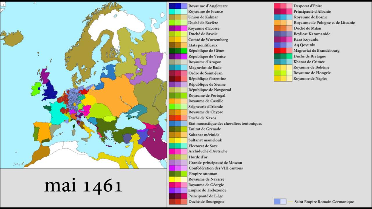 Europe YouTube - Portugal map 1500
