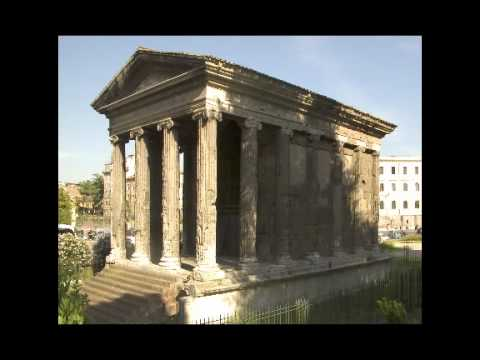 Temple of Portunus, c. 120-80 B.C.E., Rome - YouTube