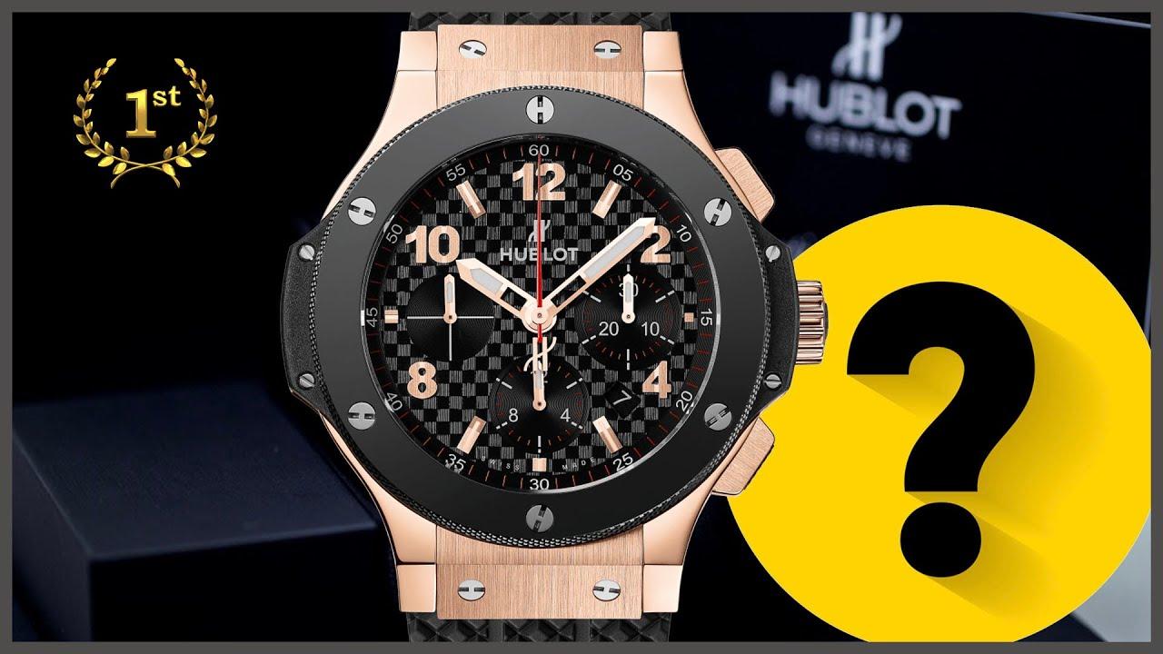 Часы мужские наручные брендовые hublot youtube