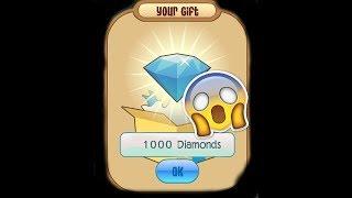 [Тварина варення] 1000 алмазів коди **2019** (ще працюю)