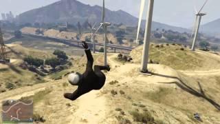 GTA 5 fun with the windmills #5