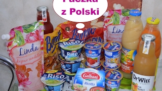 Распаковка посылки продукты из Польши rozpakowywania Produkty paczka z Polski #4