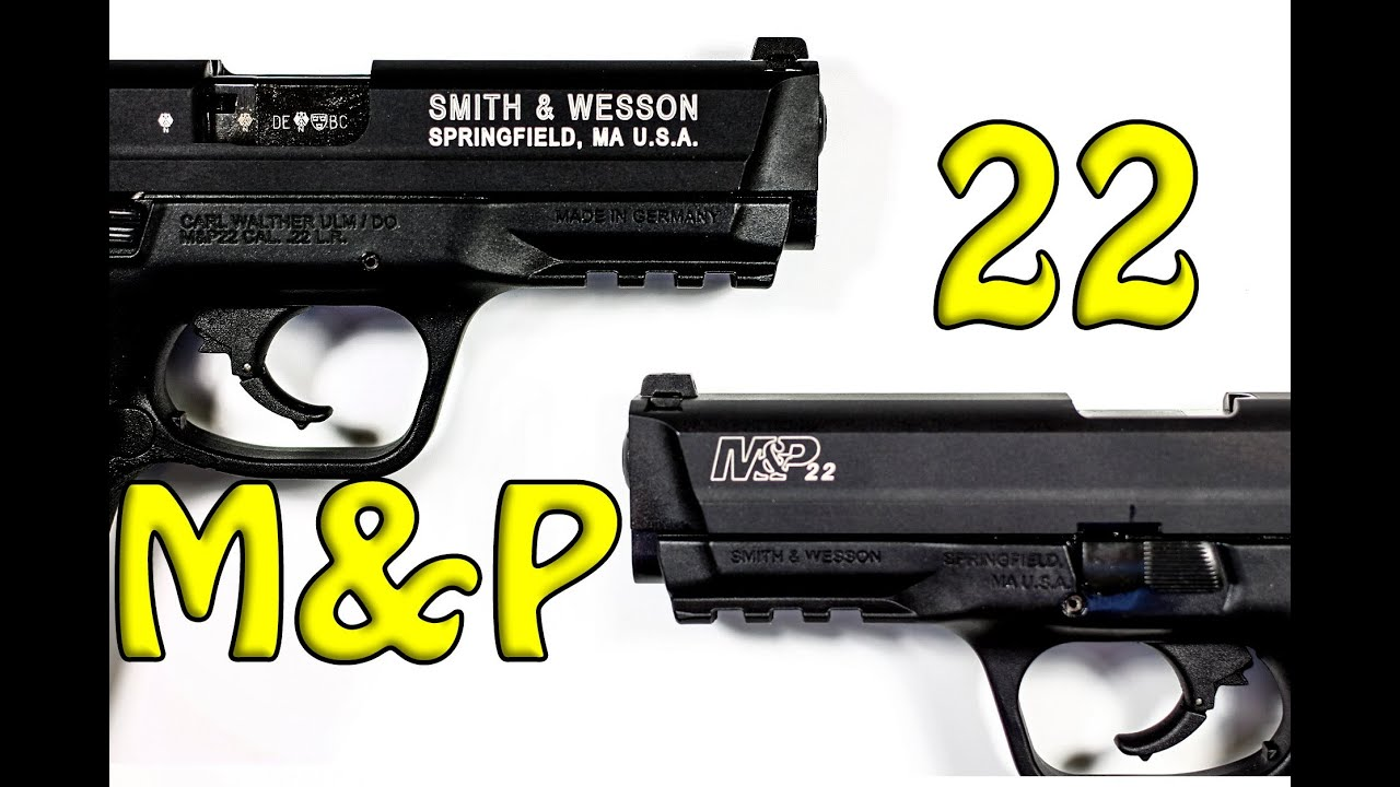Smith & Wesson M&P 22 - SnareMan