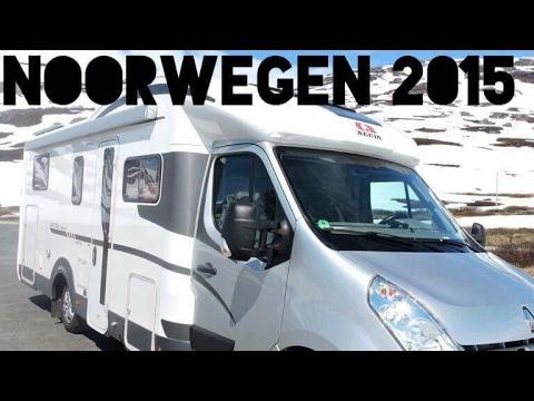 RV trip Norway Noorwegen 2015 met de camper