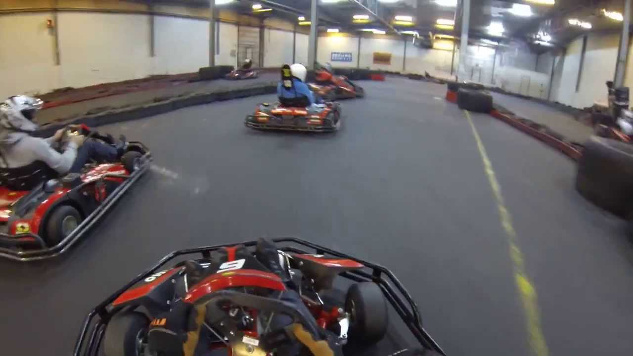 Go Kart Racing Pa >> Gokart Inomhus Pa Racehouse I Malmo Forsta Passet Youtube