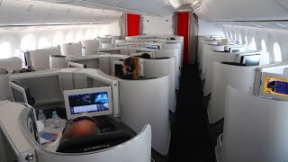 Oh la la! Air France B787 Business Class from the Maldives to Paris