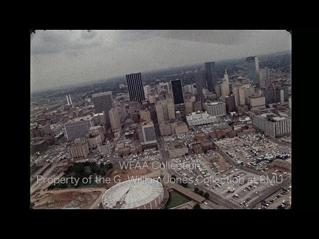 Trinity River and Aerial Dallas 1970s