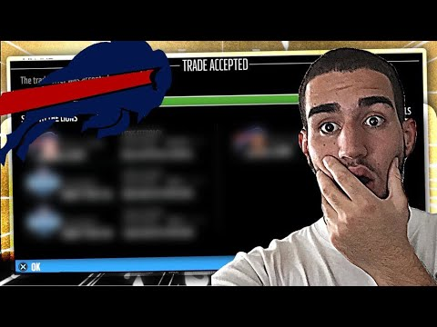 TRADE FOR DEFENSIVE SUPERSTAR IS ACCEPTED!!! Madden 18 Bills Connected Franchise Ep. 3