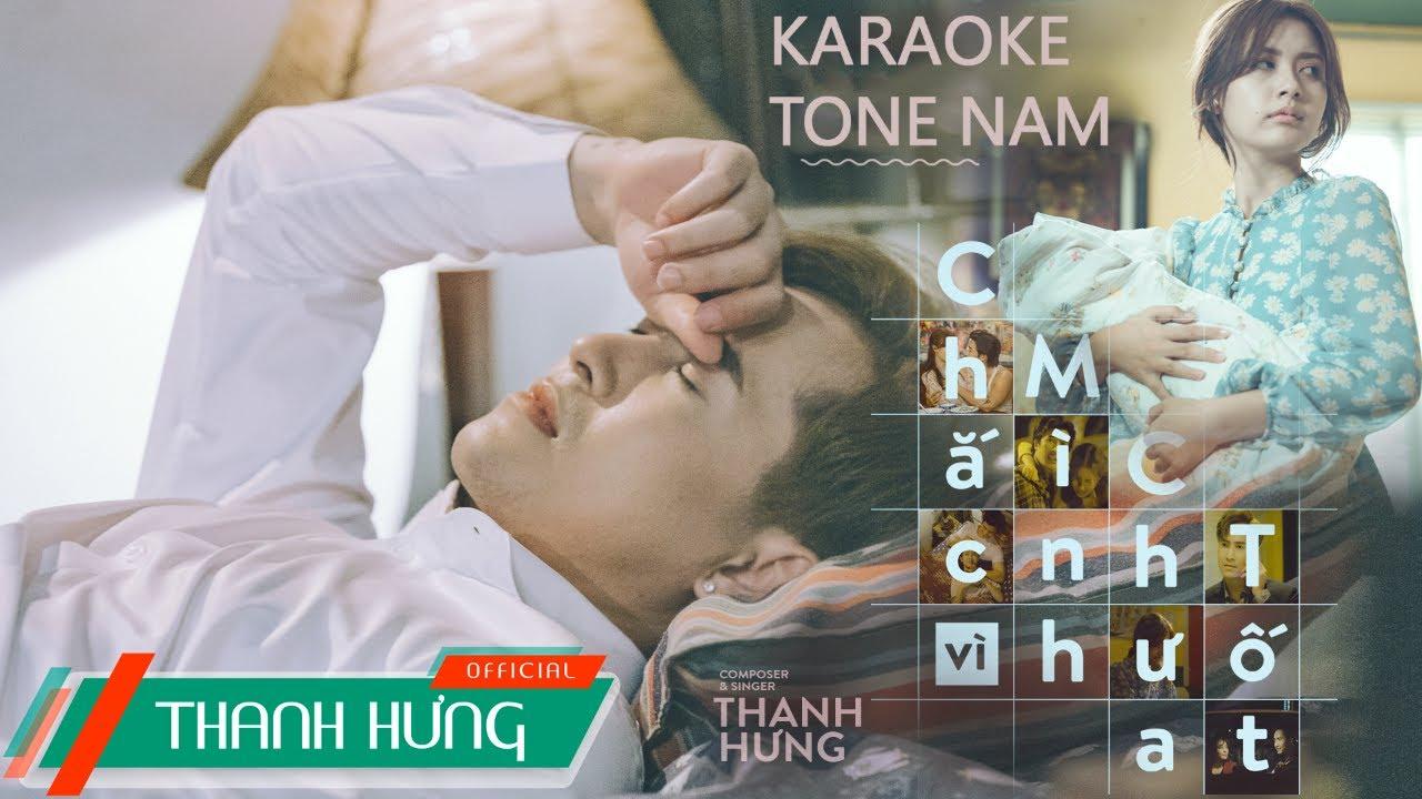 [Karaoke] CHẮC VÌ MÌNH CHƯA TỐT (ADMDM2) | THANH HƯNG | Tone Nam (Beat Chuẩn)