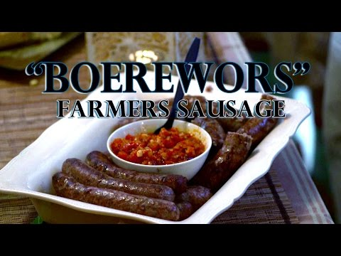 """Boerewors"" after a long day of work!!! Tasty Tuesday #9"