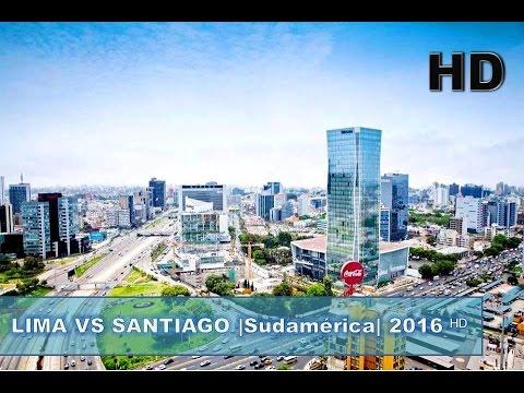 ✔ Lima - Perú vs Santiago de Chile |Sudamérica Pacífico| 2017 ᴴᴰ
