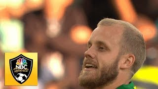 Teemu Pukki reestablishes Norwich's two-goal lead v. Manchester City | Premier League | NBC Sports