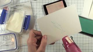 Two Minute Tip - Heat Embossing 101