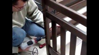 Инструкция сборки детской двухъярусной кровати