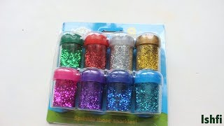 Colourful Let's Create Glitter Shakers for learning
