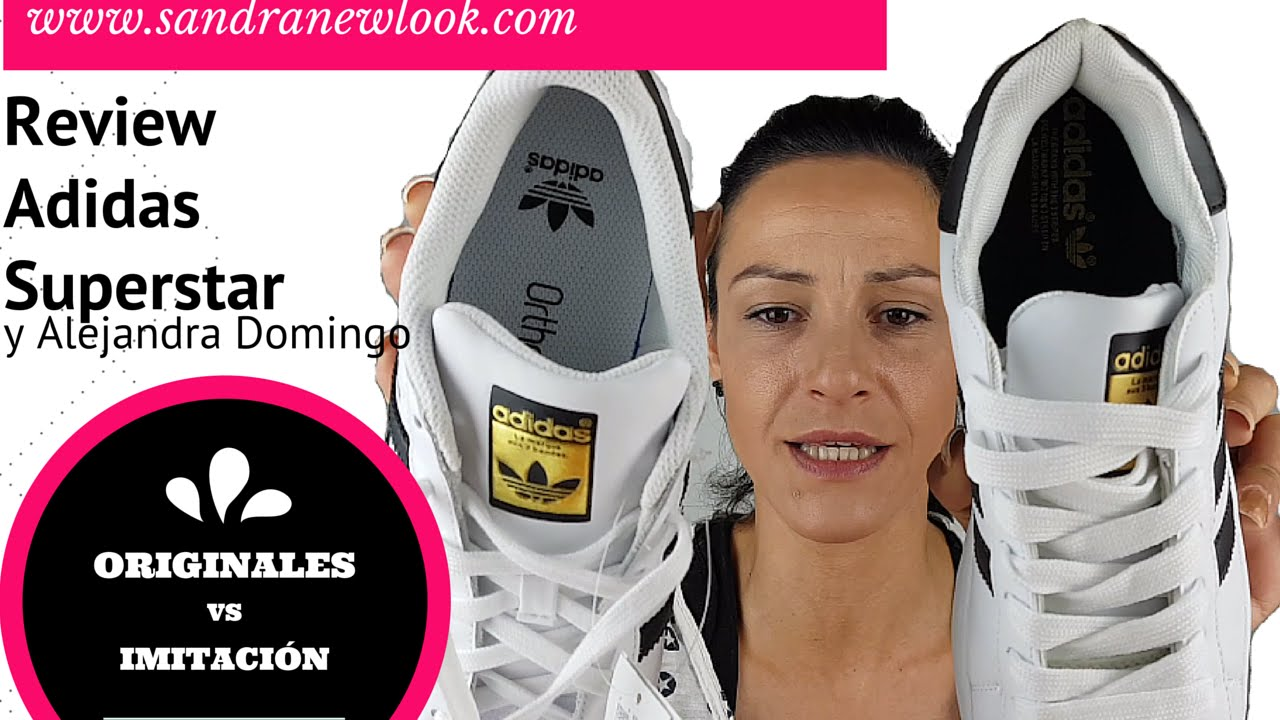 new styles a6a29 a9181 Review Adidas Superstar Originales VS Imitación   Sandranewlook - YouTube