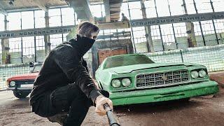 Mission To Huge Abandoned Car Depot
