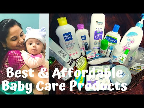 Best Baby Care Products For Newborn To Toddler| 100% Safe Toxin Free|Complete Skin Care Routine