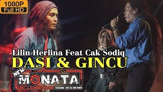 NEW MONATA. DASI & GINCU  Cak Sodiq & Lilin Herlina RAMAYANA Audio