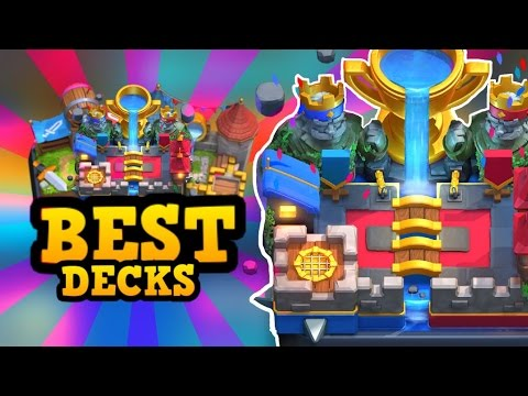 Best Ladder Decks for EVERY Arena in Clash Royale (Based on Win %)