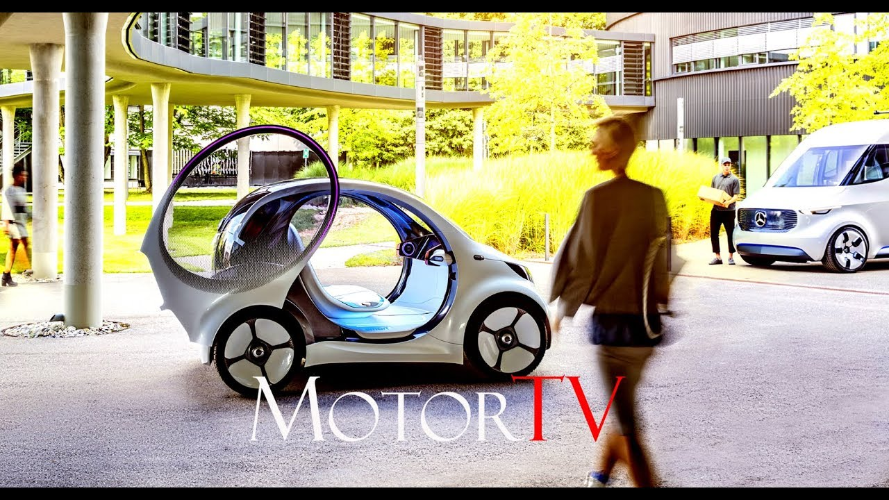 YEAR 2030 : SMART VISION EQ fortwo l The future of car ... Year 2030 Cars