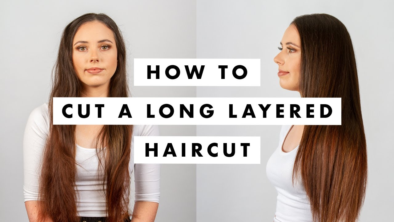 Download How to Cut Hair: Long layered haircut tutorial - MIG Training