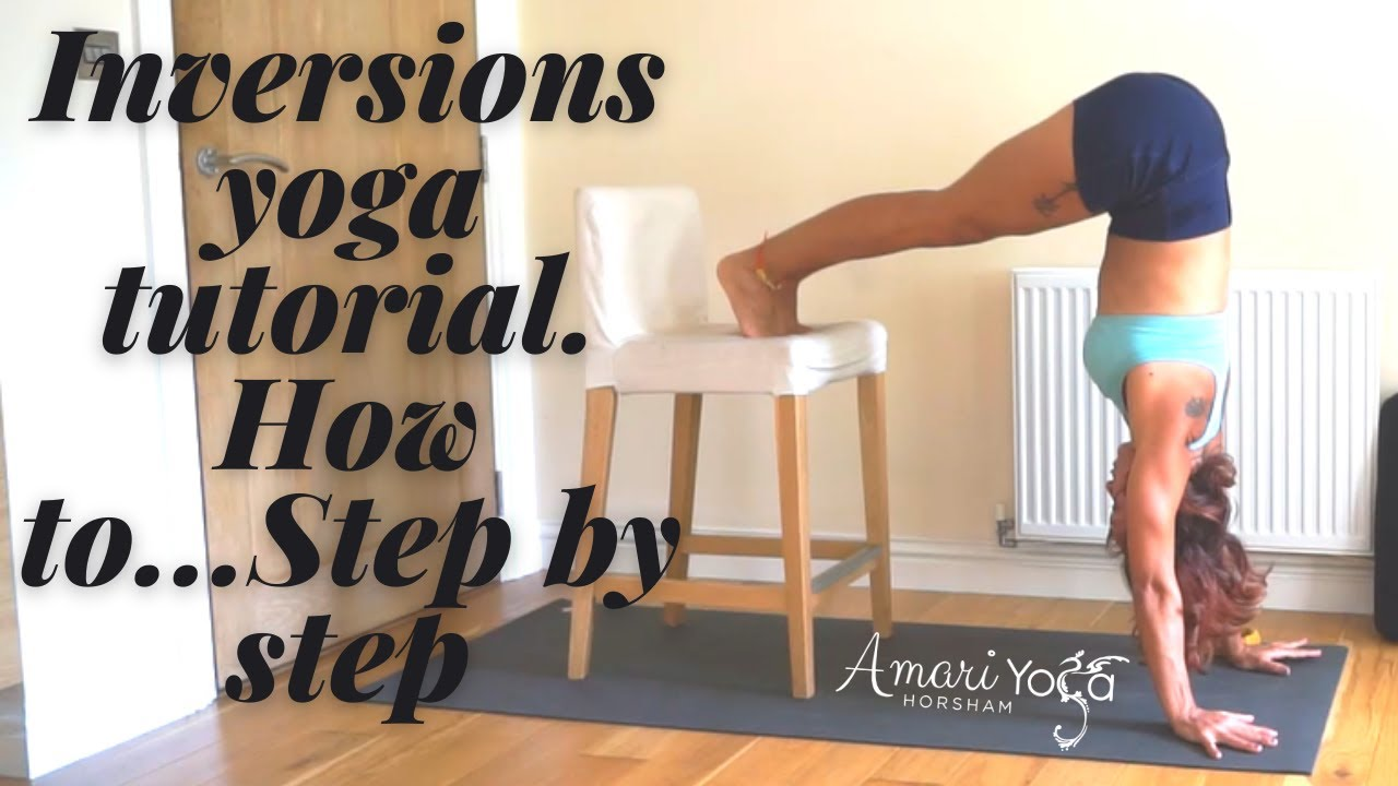 Why are inversions in yoga good for the body?
