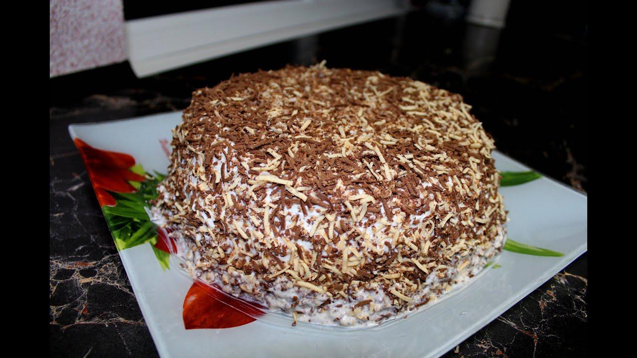 Как готовить самый легкий торт
