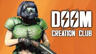 Fallout 4 Creation Club Testing 2 DOOM GEAR Power Armor Skins