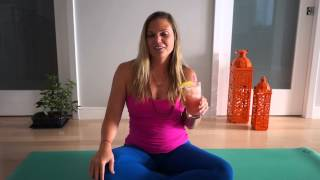 yoga breath practice that is cooler than the other side of the pillow