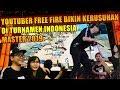 GODAIN CEWE DI TURNAMEN INDONESIA MASTER BIKIN RUSUH SEMUA YOUTUBER - GARENA FREE FIRE