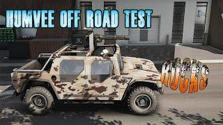 6.6l diesel Humvee off roading | Tom Clancy's Ghost Recon Breakpoint