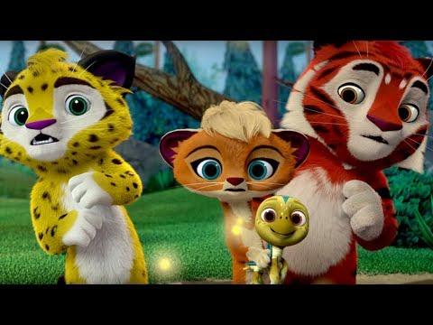 Лео и Тиг  - Подкидыш - Мультфильмы для детей о жителях тайги -  серия 18 - Видео приколы смотреть