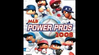 MLB Power Pros 2008 PS2 Gameplay
