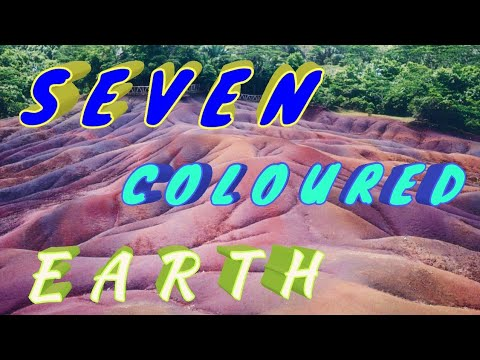 Chamarel seven colored earth | Mauritius vlog no.3 | Beautiful place in top ten list of Mauritius.