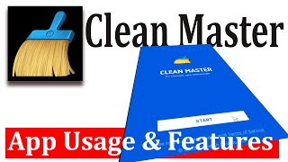 Clean Master app usage and features screenshot 2