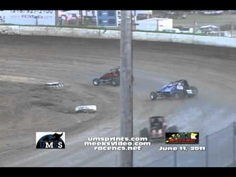 UMSS 6-11-2011 N. Central Speedway Non Wing Highlights