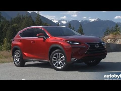 2015 Lexus NX 300h Test Drive Video Review - Hybrid Compact Luxury Crossover