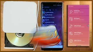 How to read and write to CDs and DVDs from Android Phone (USB OTG)